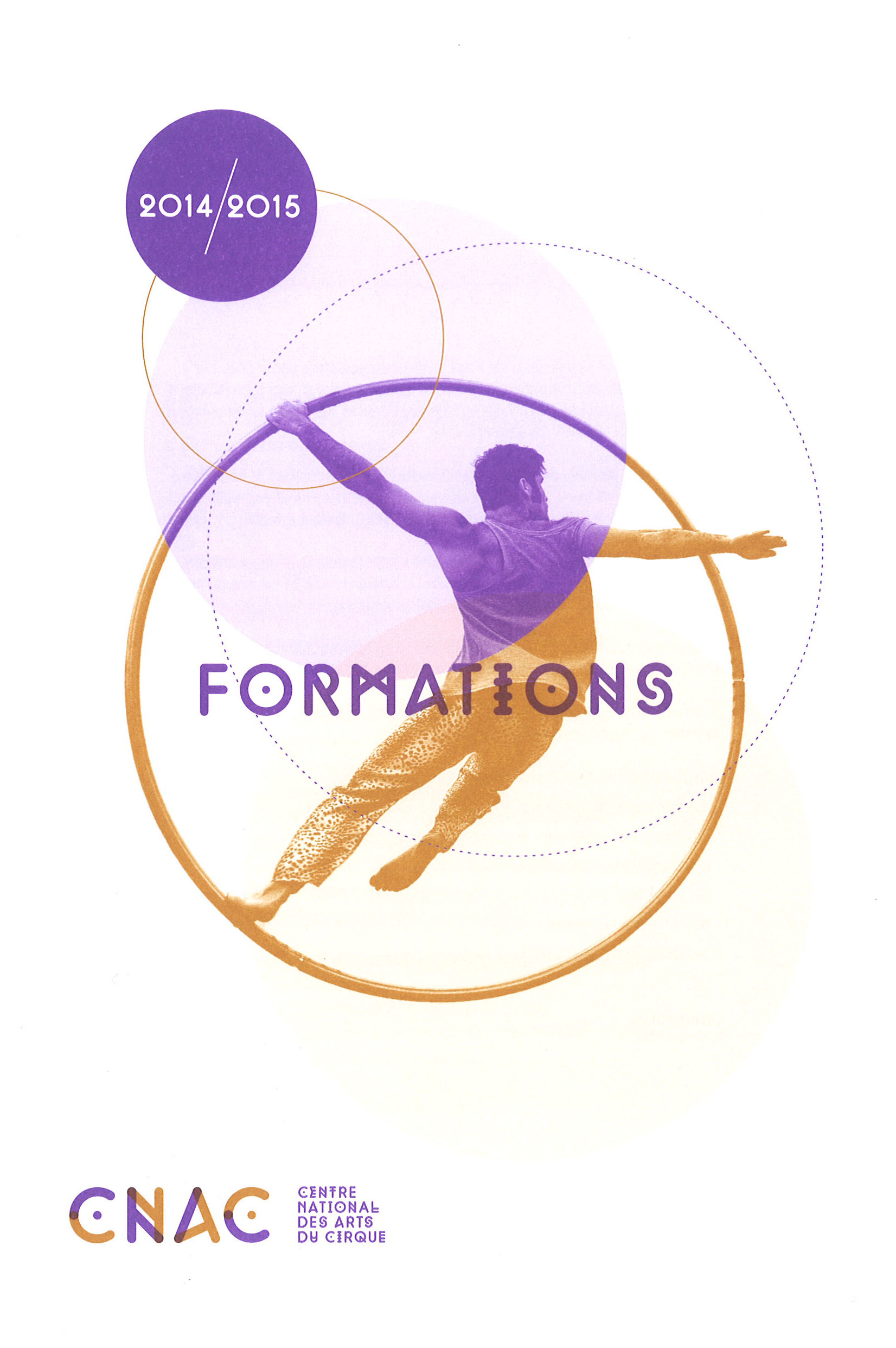 Programme 2014/2015 des stages de la formation permanente du Centre national des arts du cirque