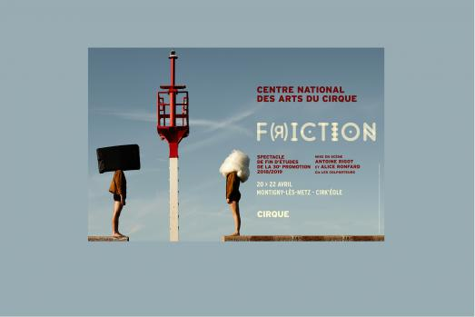 F(r)ICTION Spectacle de fin d'études 2018/2019
