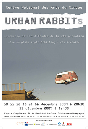 URBAN RABBITs - Spectacle fin d'études 2009/2010